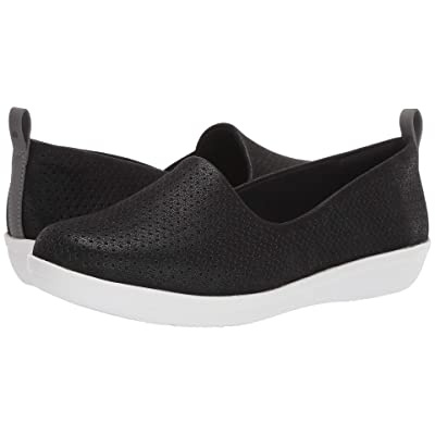 Clarks Ayla Blair (Black Synthetic Nubuck) Women