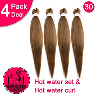 EZ Braiding Hair Professional (Pre-Stretched Braid) Itch Free Braiding Hair Synthetic Hair Braids for Women