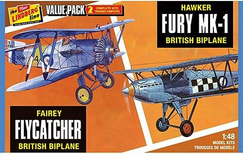 disfruta ahorrando 30-50% de descuento Hasegawa ln4411    48Escala Kit de Modelo Lindberg Hada de pájaro con cazamariposas Hawker Fury (Pack de 2)  hasta un 70% de descuento