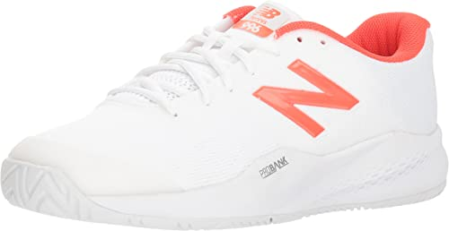 New Balance - Chaussures pour Hommes Hard Court MCH99, 45.5 EUR - Width D, blanc Flame