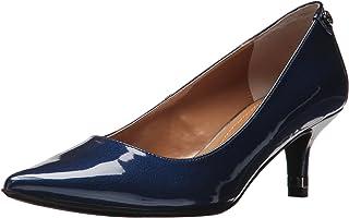حذاء Gianna للسيدات من J.Renee، مقاس متوسط أمريكي 5، لون أزرق داكن لؤلؤي