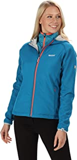 Regatta Women's Arec II Soft Shell Jacket, Petrol Blue(Light Steel), 18