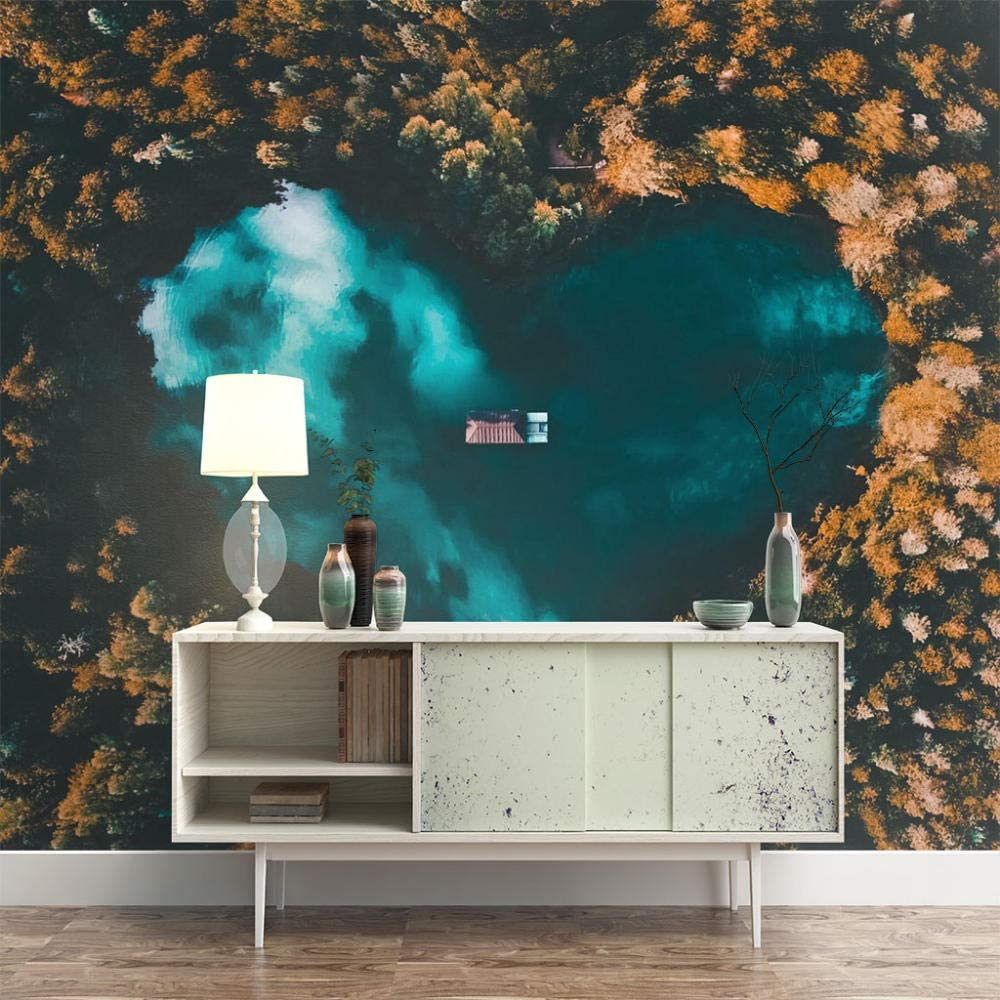 ZXDHNS Sales for sale Photo Wallpaper - Removable Mural Lowest price challenge Wall Creative Heart-S