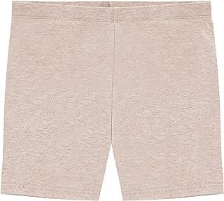 Hollywood Star Fashion Khanomak Girls' Cotton Bike Shorts for Sports, School Uniform Under Skirts (Sizes 2T- 12 Yrs)