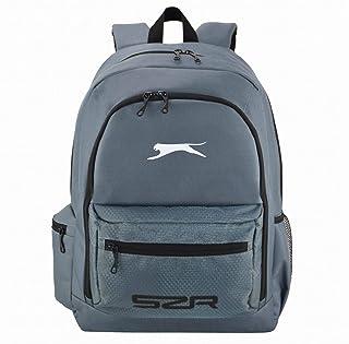 Slazenger Unisex Backpack and Lunch Box Charcoal