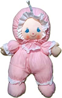 """Anico Well Made Play Little Darlin' Terry Baby, 13.5"""", Pink"""