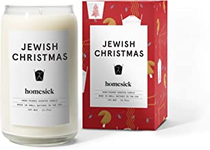 Homesick Scented Candle, Jewish Christmas