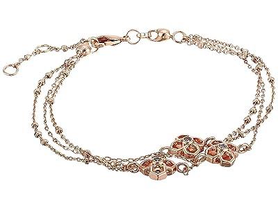Kendra Scott Rue Multi Strand Bracelet (Rose Gold Metal) Bracelet