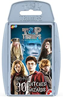 Winning Moves Top Trumps Harry Potter Card Game, Multi-Colour, 001649