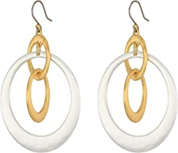 Lucky Brand - Orbital Drop Earrings