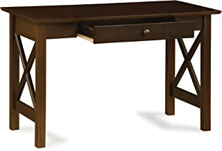 Lexi Desk with Drawer, Antique Walnut