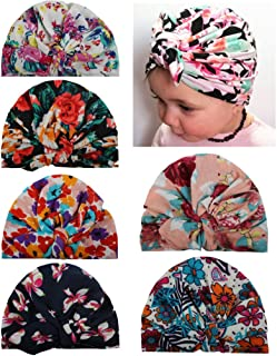 Baby Girls' Hats & Caps Knotted Turban Cute Toddler Hat Hair Accessories 6-36M