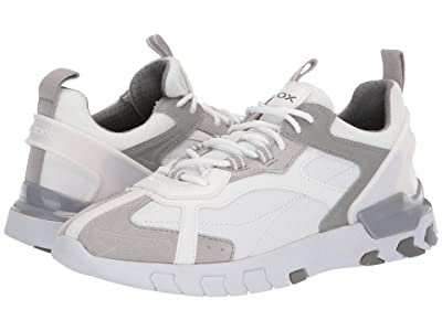 Geox Grecale (White/Light Grey) Men
