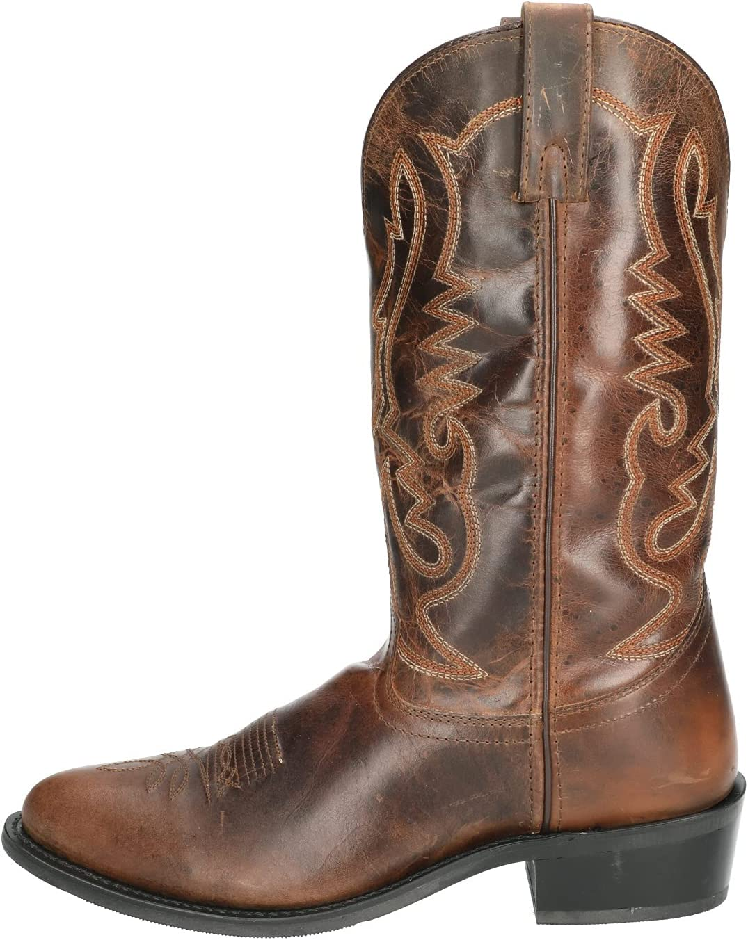 Smoky Children's Kid's Floralie Leather Western Cowboy Boot