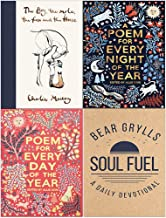 The Boy The Mole The Fox and The Horse, A Poem for Every Night of the Year, A Poem for Every Day of the Year, Soul Fuel A Daily Devotional 4 Books Collection Set
