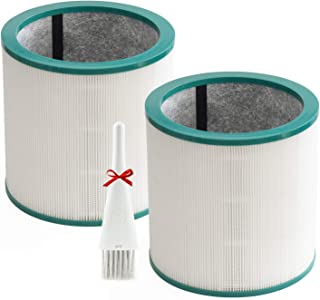 2 Pack Replacement Air Purifier Filter for Dyson Tower Purifier Pure Cool Link TP01, TP02, TP03, BP01, Compare to Part 968...