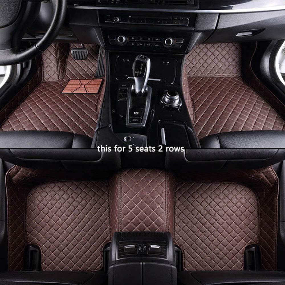 HSIYE Car Floor Ranking TOP7 5 popular Mat Set Models mats Volkswagen for All