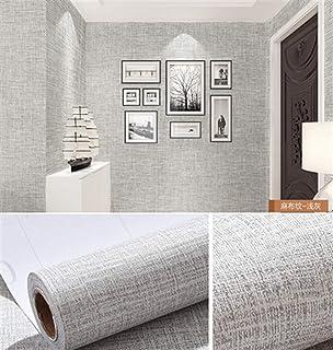الحد الأدنى الحديث تنقش لفة خلفية Linen PVC Vinyl Contact Paper for Kitchen Cabinets Home Decor Self adhesive Wallpaper Fo...