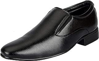 Bata Men's Black Faux Leather Formal Shoes