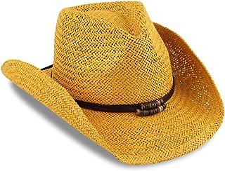 649e40fd Amazon.com: Yellows - Cowboy Hats / Hats & Caps: Clothing, Shoes ...