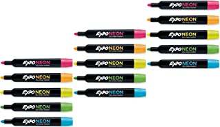EXPO Neon Dry Erase Marker 3 Pack (15 Markers)