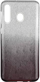 Strras 3 in 1 Back Fashion Case For Samsung Galaxy M30 - Silver and Brown
