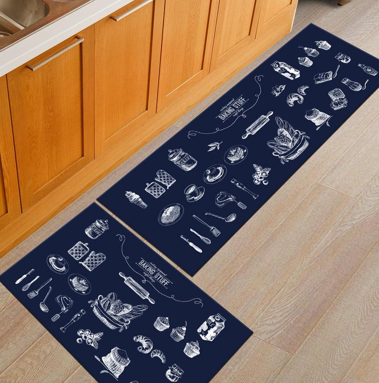 Door Mat, New Multi-color Modern Non-Slip Waterproof Kitchen Bedroom Utility Door Mat,TT-013-40  60CM