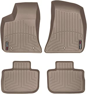 WeatherTech Custom Fit FloorLiner for 300 / Charger - 1st & 2nd Row (Tan)