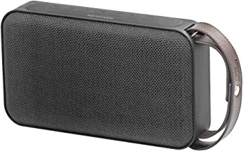 Promate Ultra Portable Bluetooth 4.0 Wireless Speaker 20 W 8800 mAh Micro SD Slot with AUX Port Black, Clear