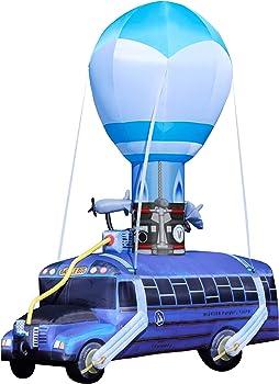 Spirit Halloween Fortnite 17.5 Ft Battle Bus Inflatable