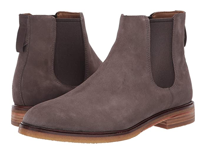 Clarks  Clarkdale Gobi (Taupe Suede) Mens Pull-on Boots