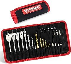 HYCHIKA 26PCS Taladro Broca Accesorios,Adecuado y ampliamente aplicable para taladrar madera, plástico, metal
