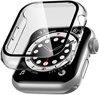 Tycom Case Compatible with Apple Watch Series 6/SE/Series 5/Series 4 with Built in Tempered Glass Screen Protector- All Ar...