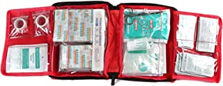 Well-Strong First Aid Kit 300 Pieces - Includes Splints Bandages Gauzes & Instant Cold Compress - for Travel Car Home Offi...
