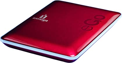 Iomega eGo USB 2.0 320 GB Compact Portable Hard Drive 34886 (Ruby Red)