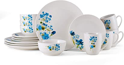 Mikasa Painted Wildflowers, 16-Piece Dinnerware Set, Service For 4, Assorted