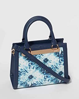 Blue Tie Dye Taylor Mini Tote Bag