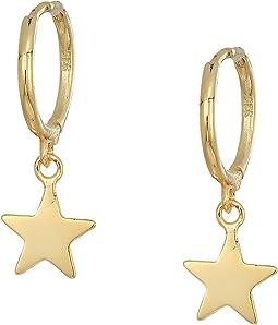 SHASHI Luna Huggie Earrings