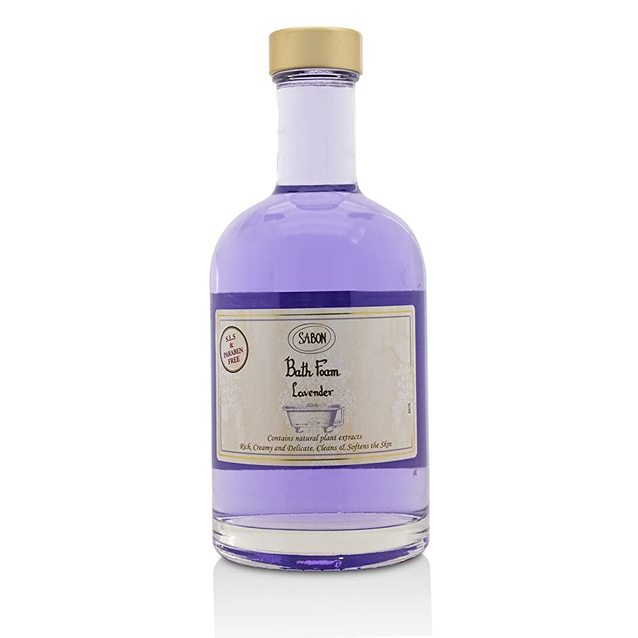 スクラップ詳細に倍増サボン Bath Foam - Lavender 375ml/12.6oz並行輸入品