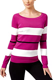 90ecaa73500 INC International Concepts Womens Petite Color Blocked Sweater