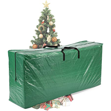"""Vencer Green Extra Large Christmas Tree Bag for 9 Foot Tree Holiday 65"""" x 30"""" x 15"""",VHO-006"""