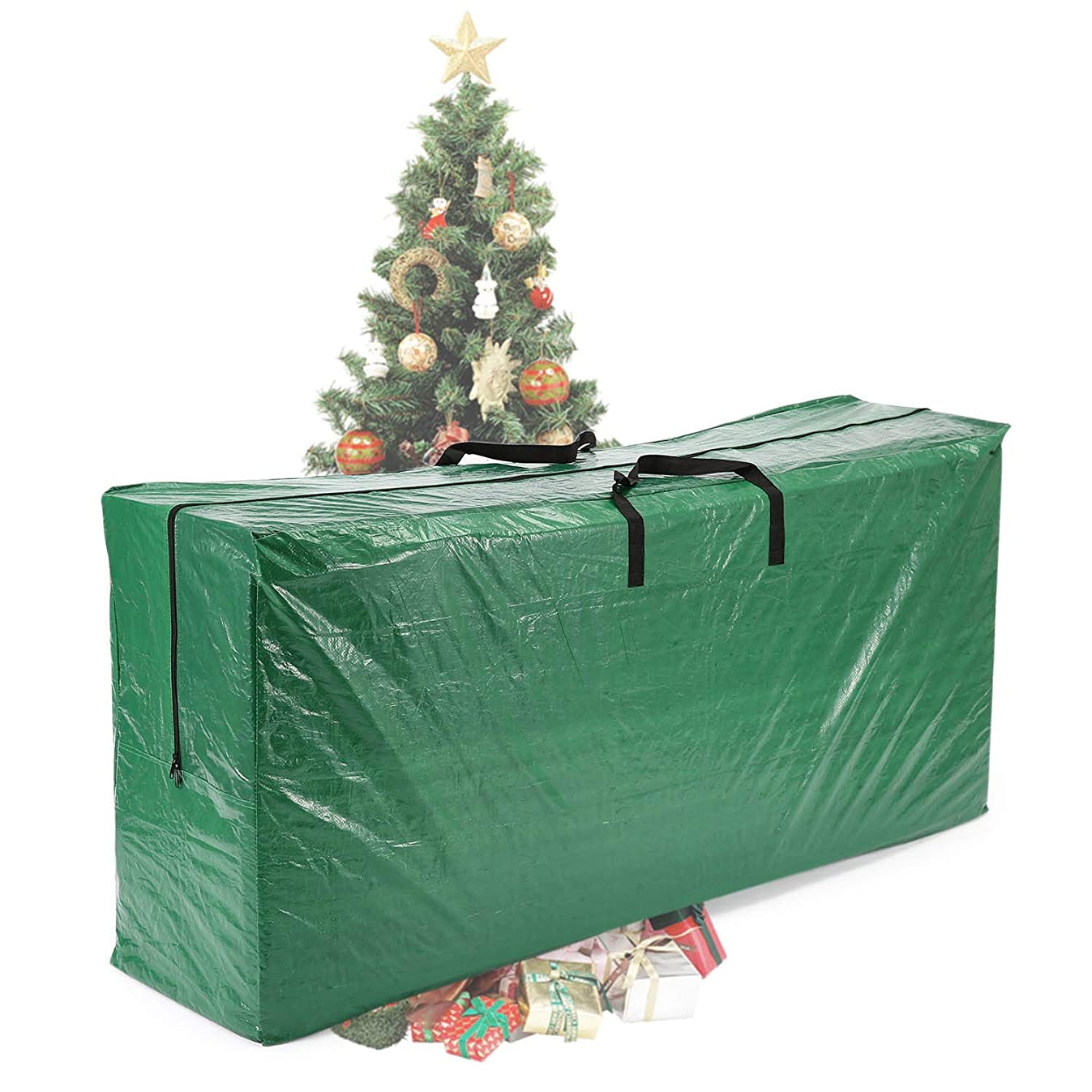 Vencer Green Extra Large Christmas Tree Bag for 9 Foot Tree Holiday 65