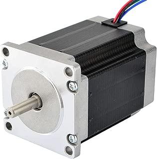 STEPPERONLINE CNC Stepper Motor Nema 23 Bipolar 2.8A 269oz.in/1.9Nm CNC Mill Lathe Router