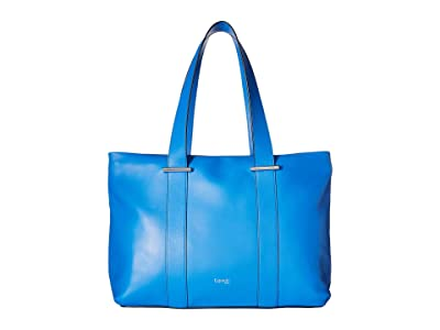 Lipault Paris By The Seine Large Tote Bag (Cobalt Blue) Tote Handbags