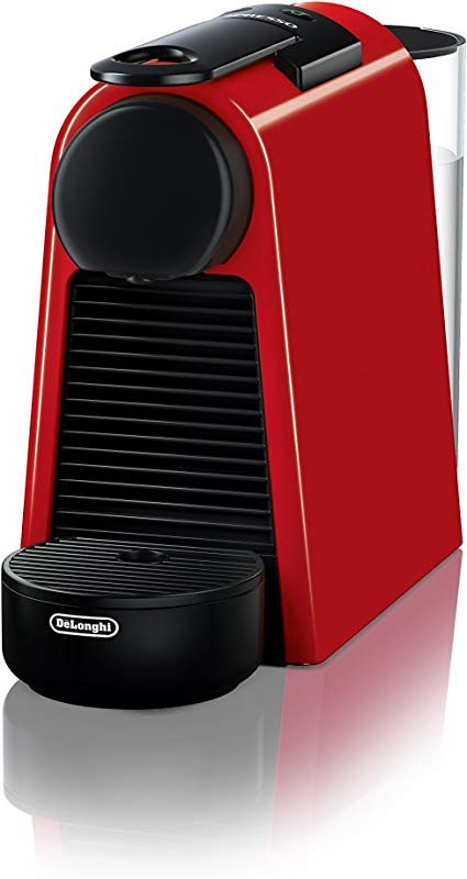 DeLonghi EN85R Essenza Mini Original Espresso Machine By De Longhi Red