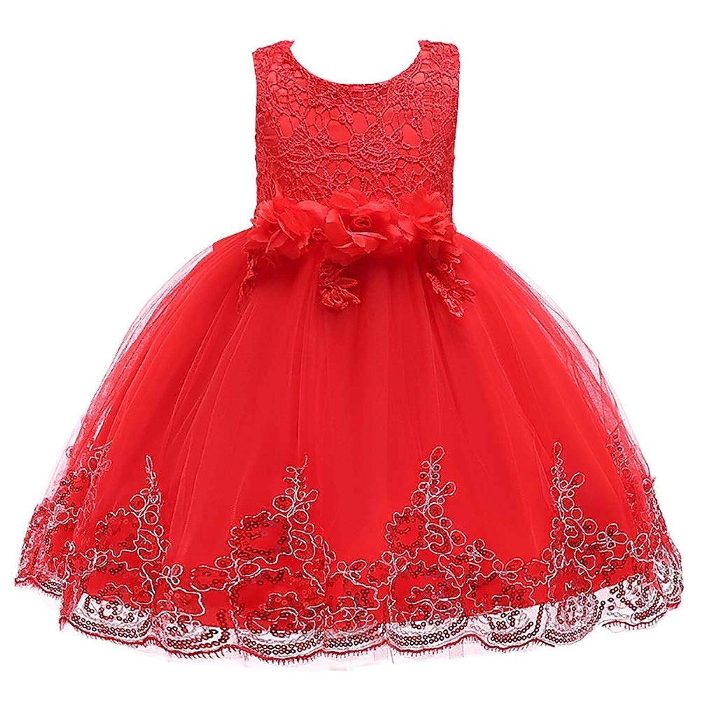 YLQ 子供のスカート白雪姫のスカートチュチュ子供ドレス女の子の衣装クリスマススカート女の子のドレス (色 : Big red, サイズ : 120cm)