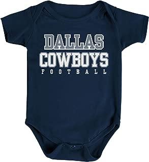 Dallas Cowboys NFL Unisex Infant Practice Logo Onesie