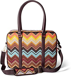 Missoni for Target Travel Tote Luggage - Colore Chevron Pattern