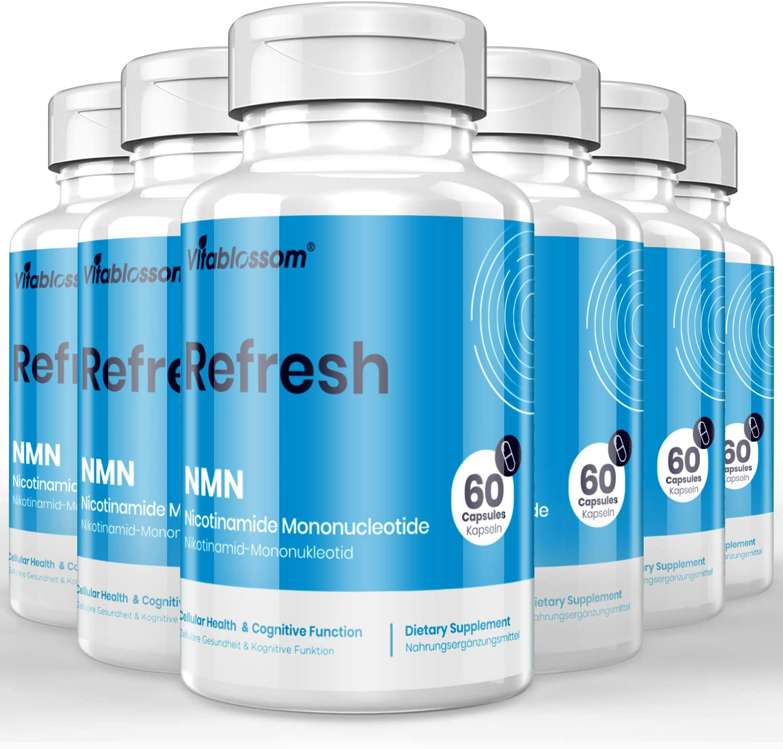 限定タイムセール Vitablossom 市販 NMN 500mg Capsule Mononucleotide Nicotinamide Direct