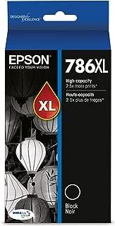 Epson T786XL120-S DURABrite Ultra High Capacity Cartridge Ink Black